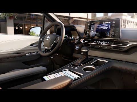 GORGEOUS Interior Of 2021 Toyota Sienna Interior - Console - Seats - Cargo