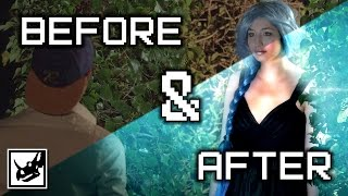 Harvest Moon: Before & After