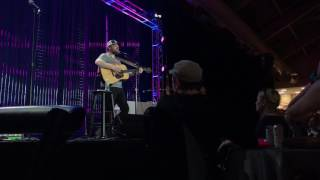 Frightened Rabbit - Scottish Winds (at Boston Calling 2017 - private acoustic set)