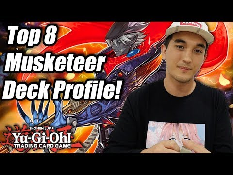 Yu-Gi-Oh! Pro-Play Tour Philadelphia Top 8 Magical Musketeer Deck Profile! ft. Christopher Bruce!