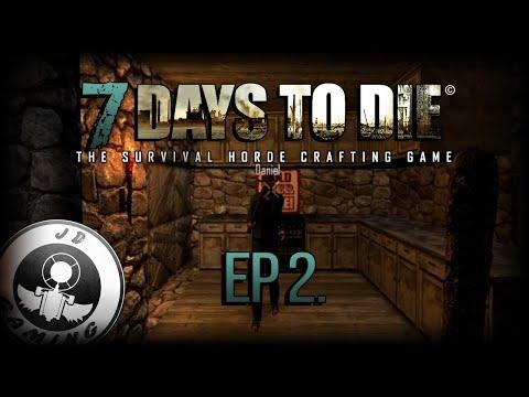 [CZ-LP] 7 Days to Die #2 - Hledání jídla, pití a doporučené grafické nastavení