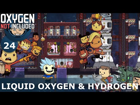 LIQUID OXYGEN & HYDROGEN GENERATION - Oxygen Not Included: Ep. #24 - Building The Ultimate Base