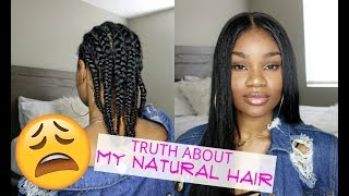 The Truth About My Hair Underneath Wigs | Has It Grown? | Feat WowEbony