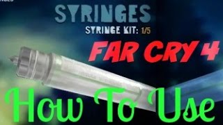 How to use Syring/Needle Far Cry 4 MP Super speed,Ghost,Healing