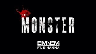 Eminem ft. Rihanna - The Monster (Clean + Lyrics)