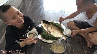 Ăn Cá Sống - Làm Gỏi Cá Mè Cho Mao Đệ Ăn Không Trượt Phát Nào