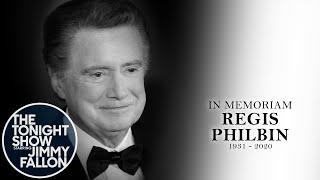 Jimmy Fallon Pays Tribute To TV Legend Regis Philbin