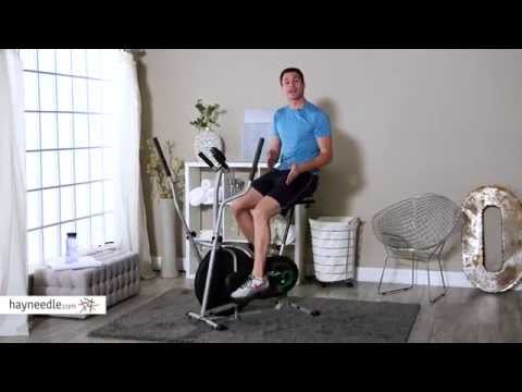 Body Rider BRD2000 Elliptical Dual Trainer with Seat - Product Review Video