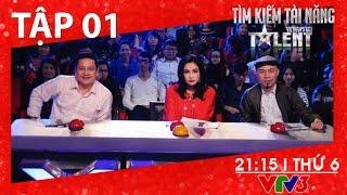[FULL HD] Vietnam's Got Talent 2016 - TẬP 01 (01/01/2016)