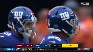 Odell Beckham Jr. Makes Incredible One-Handed Catch | Redskins vs. Giants | NFL