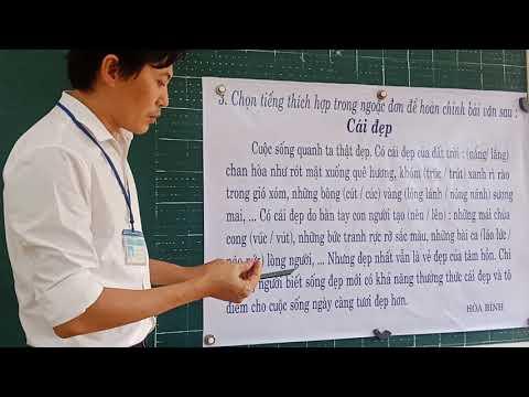 Môn CT lớp 4, bài Chuyện cổ tích về loài người, Sầu riêng (GV Trần Hữu Thịnh, Trường TH C Phú Mỹ)