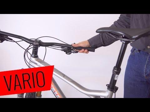 Vario Sattelstütze installieren (+Fernbedienung) - einfach & schnell - Fahrrad.org
