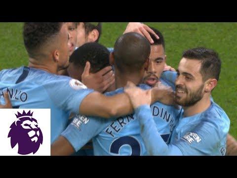Gabriel Jesus scores penalty kick to double Man City's lead v. Wolves | Premier League | NBC Sports