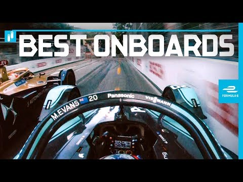 2019 Julius Baer E-Prix | Best Onboards | ABB FIA Formula E Championship