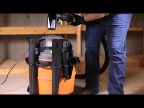 RIDGID WD1680 Wet/Dry Vac With Detachable Blower