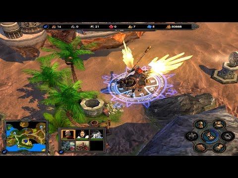 Герои меча и магии 5 карта война миров