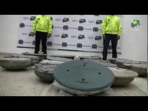 Recuperación de Tapas de Alcantarilla robadas en Bogotá