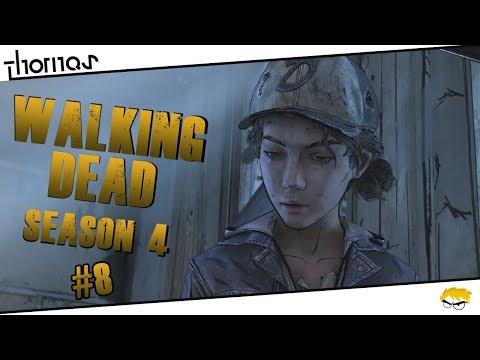The Walking Dead 4 - |#08| - Plány by byly.. | Český Let's Play | Částečný překlad