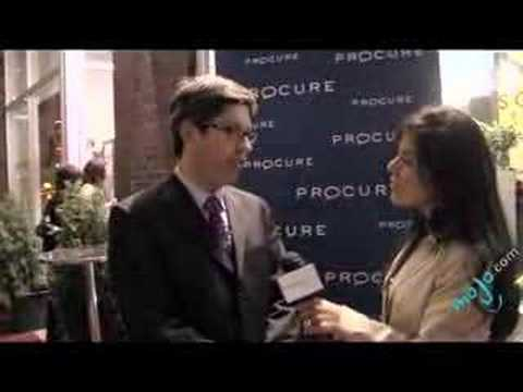 Interview with Dr. Bisson at Procure's Fundraiser