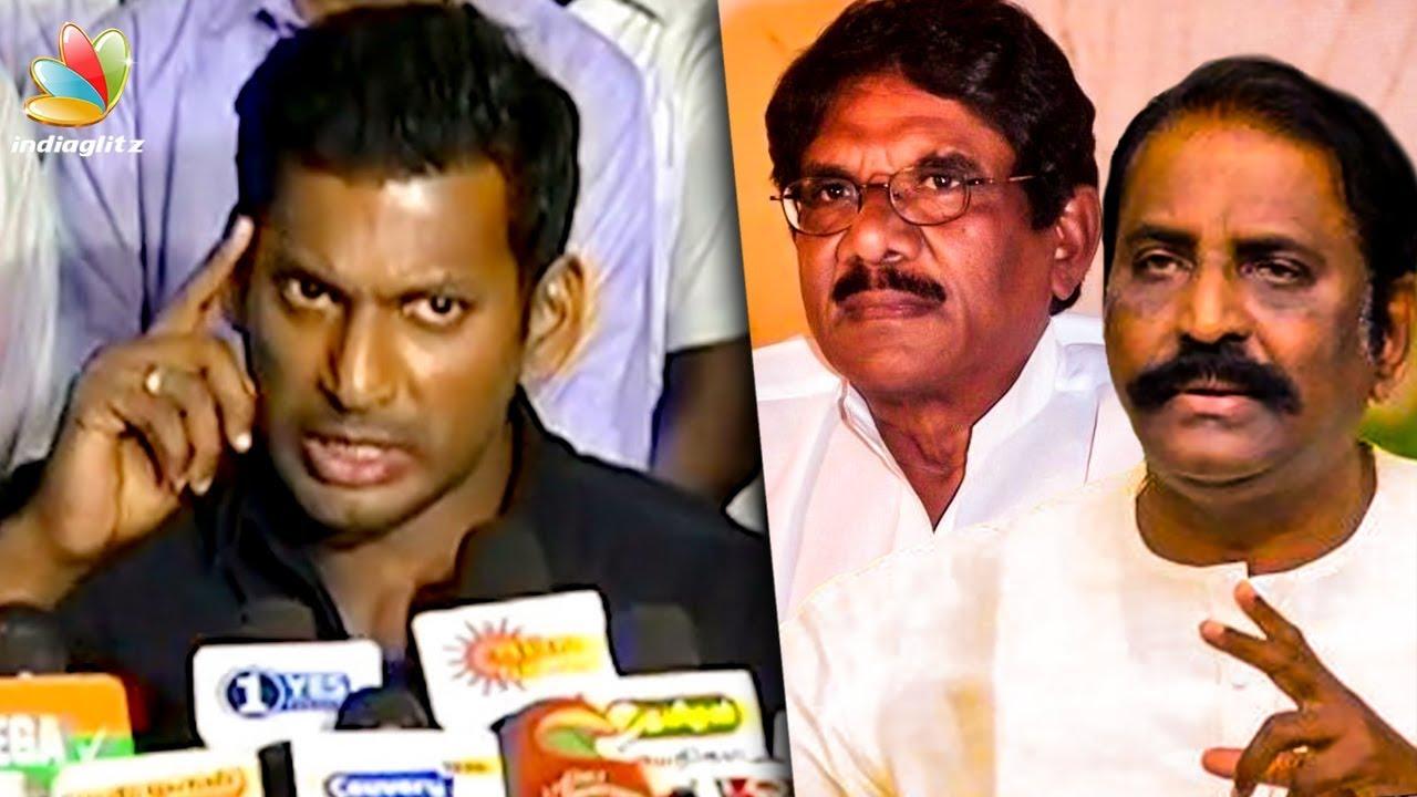 Ilayaraja 75 : Why Vairamuthu & Bharathiraja Didnt Come? | Vishal Press Meet | Latest Speech