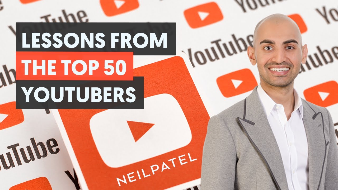 50 Lessons From The Top 50 YouTube Accounts