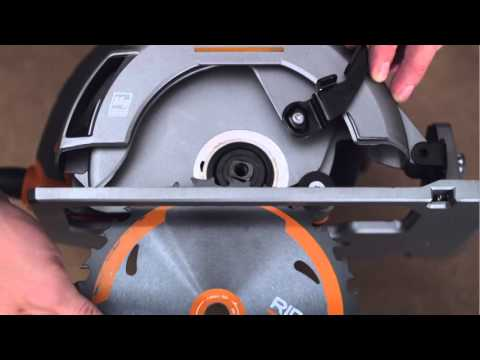 RIDGID How-To Video: For Circular Saws