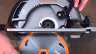 Ridgid How-to  : For Circular Saws