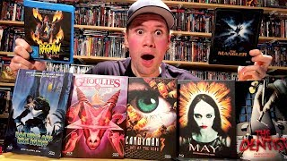 Awesome Limited Edition Horror Blu-ray Mediabooks Unboxing