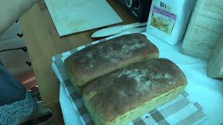 Zdrowy chleb z samopszy i płaskurki