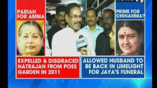 NewsX Exclusive There Is No Political Crisis In Tamil Nadu Says Sasikalas Husband M Natarajan