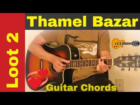 Thamel bazar - Guitar chords | lesson | tutorial