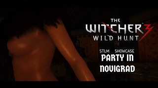 The Witcher 3 Party in Novigrad