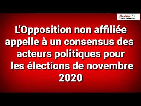 L'opposition non affiliée se dit 3e bloc politique du Burkina Faso
