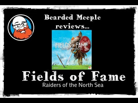 Bearded Meeple reviews: Raiders of the North Sea: Fields of Fame
