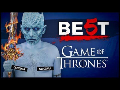 5 NEJVĚTŠÍCH CHYB V GAME OF THRONES - BE5T #16