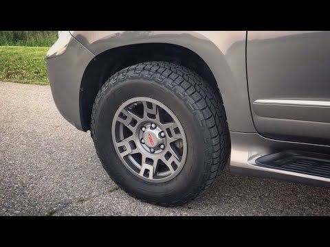 Lexus GX 460 Update! TRD Wheels & Cooper Discoverer AT3 4S POV First Impressions