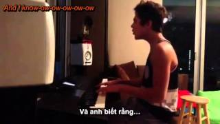 [Lyrics + Vietsub] Austin Mahone's New song: Turn the radio up (U)