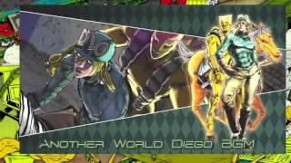 JoJo's Bizarre Adventure: Eyes of Heaven OST - Another World Diego Brando Battle BGM