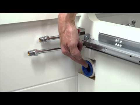 IKEA Tipps: So kannst du ein Doppelwaschbecken einbauen - Teil 4