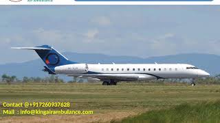 Low Fare King Air Ambulance Services from Allahabad and Raipur