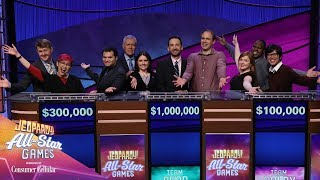 Video thumbnail for Best Moments of the All-Star Games | JEOPARDY!