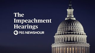 WATCH LIVE: Trump Impeachment Hearings – Day 4 — Sondland, Cooper and Hale to testify