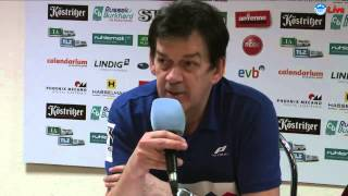 preview picture of video 'Pressekonferenz ThSV Eisenach vs. SC Magdeburg 27:28 (15:11)'
