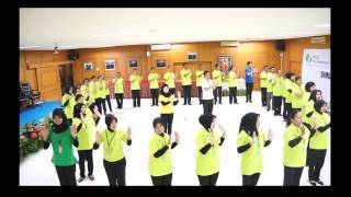 Yel Yel Dari BPJS Ketenagakerjaan Cabang Medan HD Version