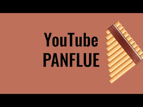 YouTube Panflute - Play on YouTube with computer keyboard