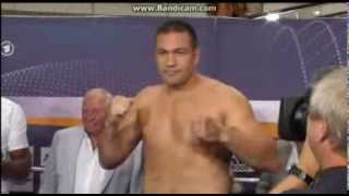 Kubrat Pulev vs Tony Thompson Weigh -in