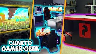 Creamos El Mejor Cuarto Gamer / Geek Del Canal