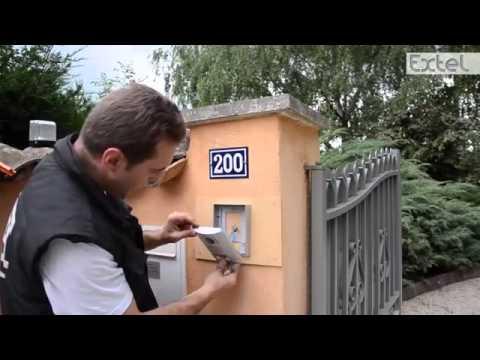 Installation interphone vid o EXTEL LENA 18