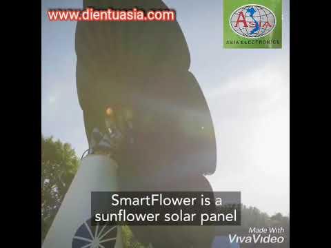 Tấm pin năng lượng Mặt Trời tự xoay - www.dientuasia.com