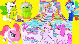 KAWAII СКВИШИ ЕДИНОРОЖКИ! РАДУЖНЫЙ ОТРЯД! 6 серия! My Little Pony + Rainbow Squad Пони Мультик